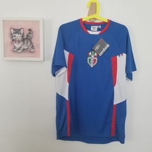 NWT Italy Soccer Jersey Men's Medium